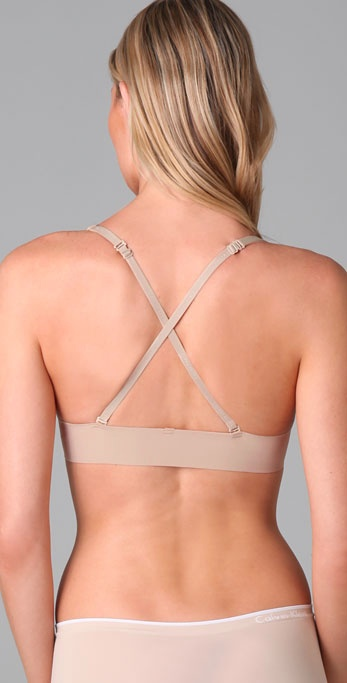 e79ab6cafe Lyst - Calvin Klein Perfectly Fit Front Fastening Multiway Bra in ...