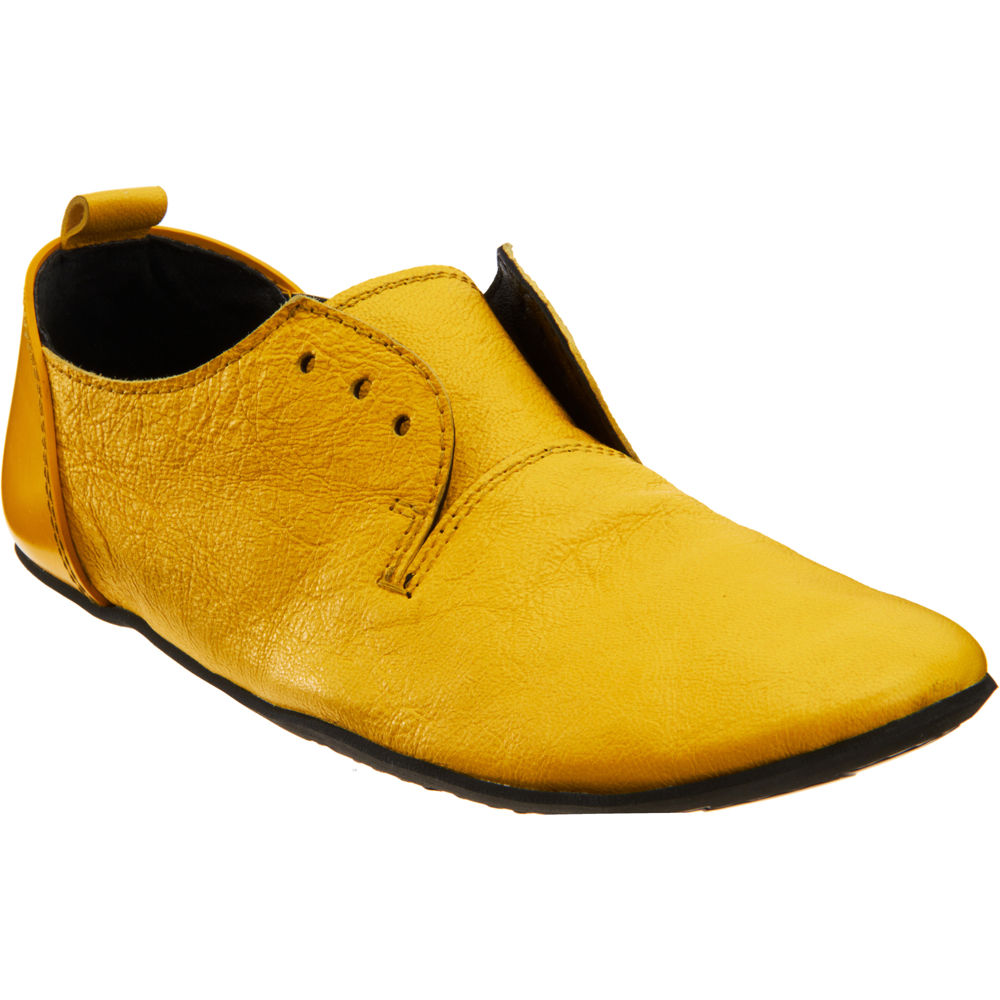 Dentelle Plate-forme Marsall Des Chaussures - Jaune Et Orange hiwUs