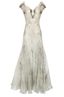 Alexander McQueen Gown with Angel Print - Lyst