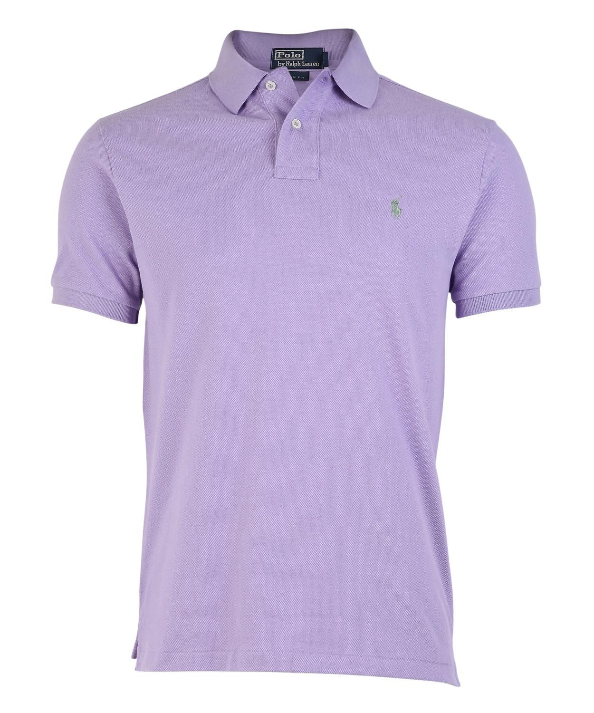 Polo ralph lauren lilac polo shirt in purple for men lyst for Black ralph lauren shirt purple horse