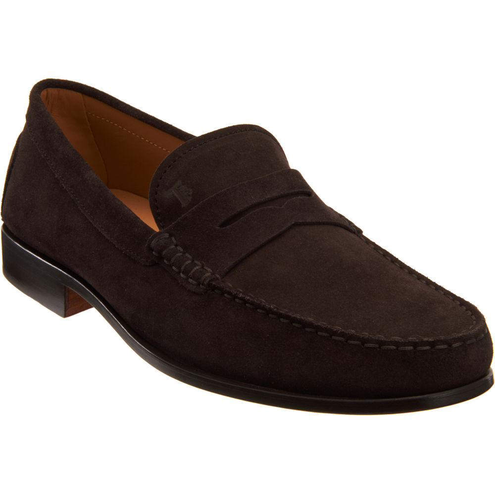 535887b4b7e Tod s Citta Penny Loafer in Brown for Men - Lyst