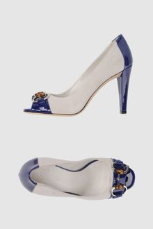 Gucci Pumps with Open Toe - Lyst