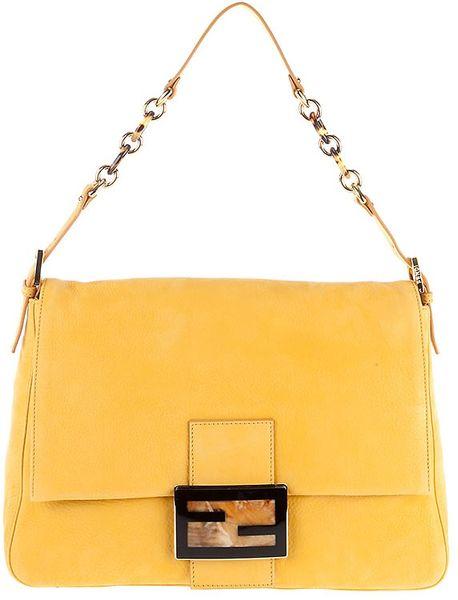 Fendi Big Mama Bag in Yellow