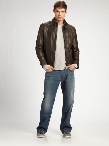 Ralph Lauren Leather Jackets for Men