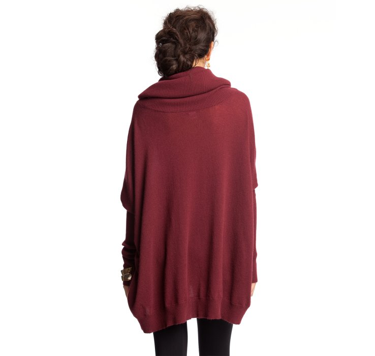 5f40d2aa5d Autumn cashmere Cherry Cola Cashmere Oversized Cowl Neck Sweater .