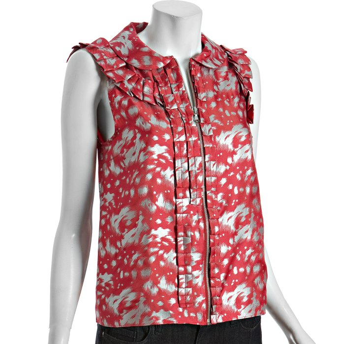 Excellent Sale Online Original Online Printed Silk-twill Shirt - Pink Marc Jacobs Pictures For Sale MCUIzR