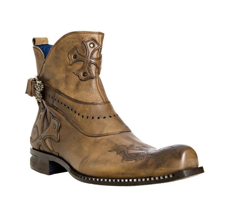 Lyst Mark Nason Rock Lives Brown Leather Dreux Ankle