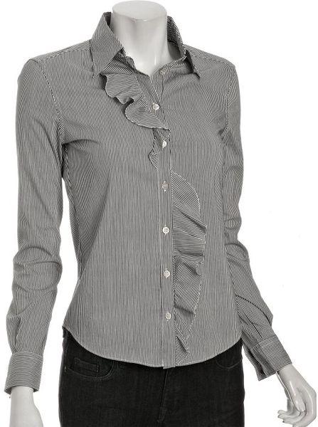 Gray Cotton Blouse 75