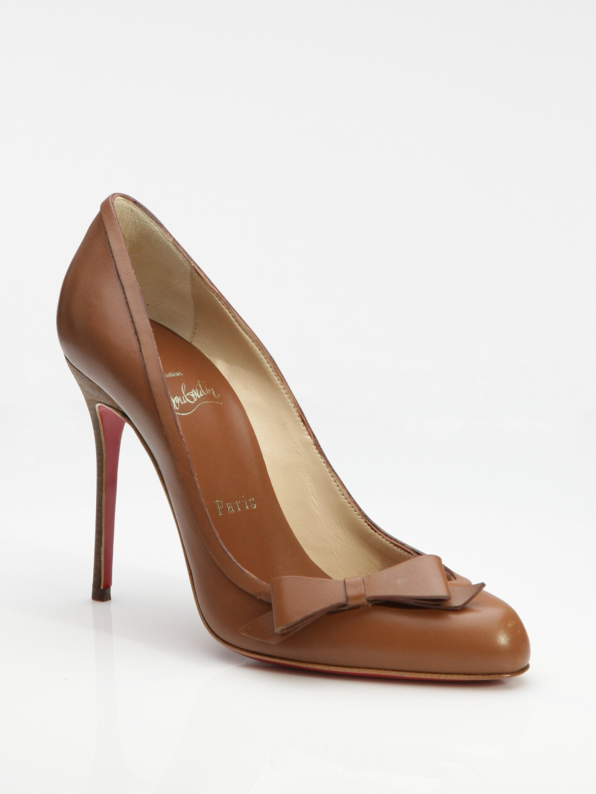 finest selection fce44 d5606 greece christian louboutin brown pumps 5e6f0 e3937