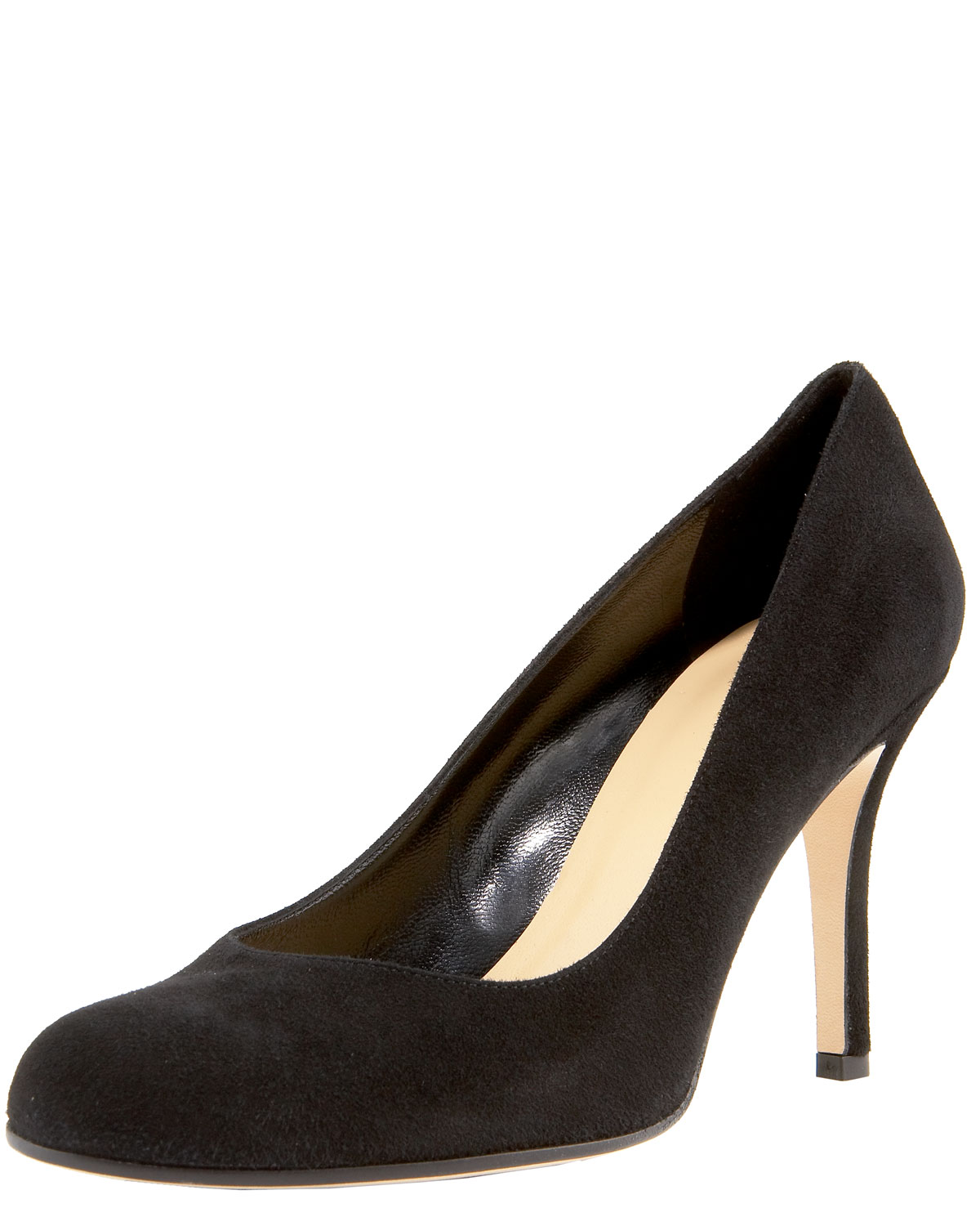 a2d0ad20dd86 Lyst - Kate Spade Pump In Black Patent Leather in Natural