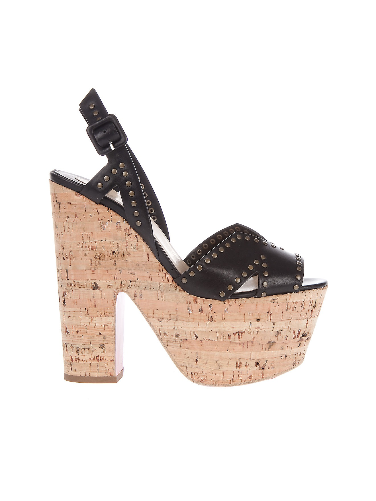 christian louboutin cork platform sandals - Bavilon Salon