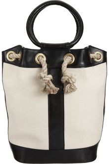 Barneys New York Rope Bucket Bag - Lyst