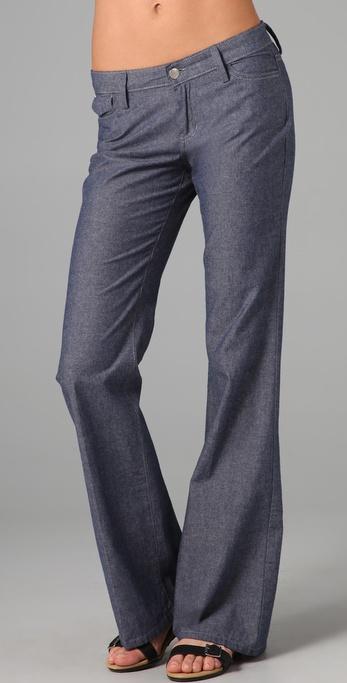 Joe's jeans High Rise Wide Leg Trouser Jeans in Blue | Lyst