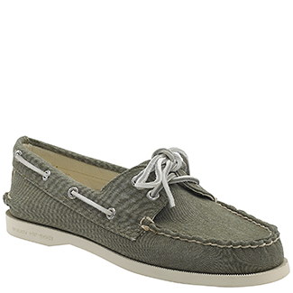 Sperry Top-sider Authentic Original 2 Eye - Olive Canvas ...