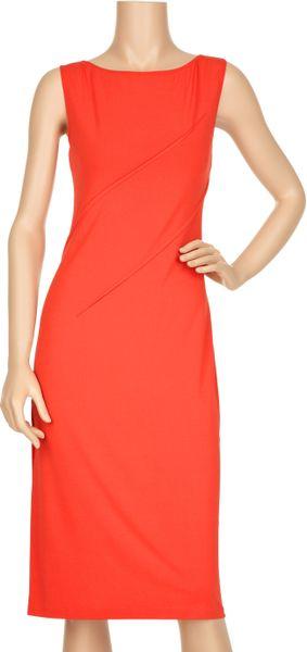 Calvin klein orange dress