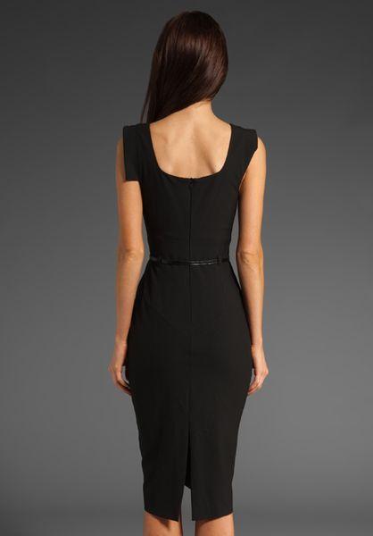 Black Halo Classic Jackie O Dress In Black Lyst