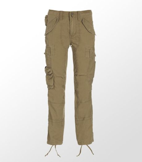 Innovative Utilityinspired Style Meets Effortless Chic In These Straightfitting Twill Cargo Pants From Lauren Ralph Lauren Cinch The Drawstring Cuffs To Spotlight Your Cute Shoes The Pants Feature A Zip Fly With A Buttoned Closure, Belt Loops, Two Front