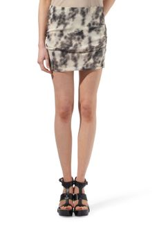 Iro Penny Printed Silk-blend Mini Skirt - Lyst