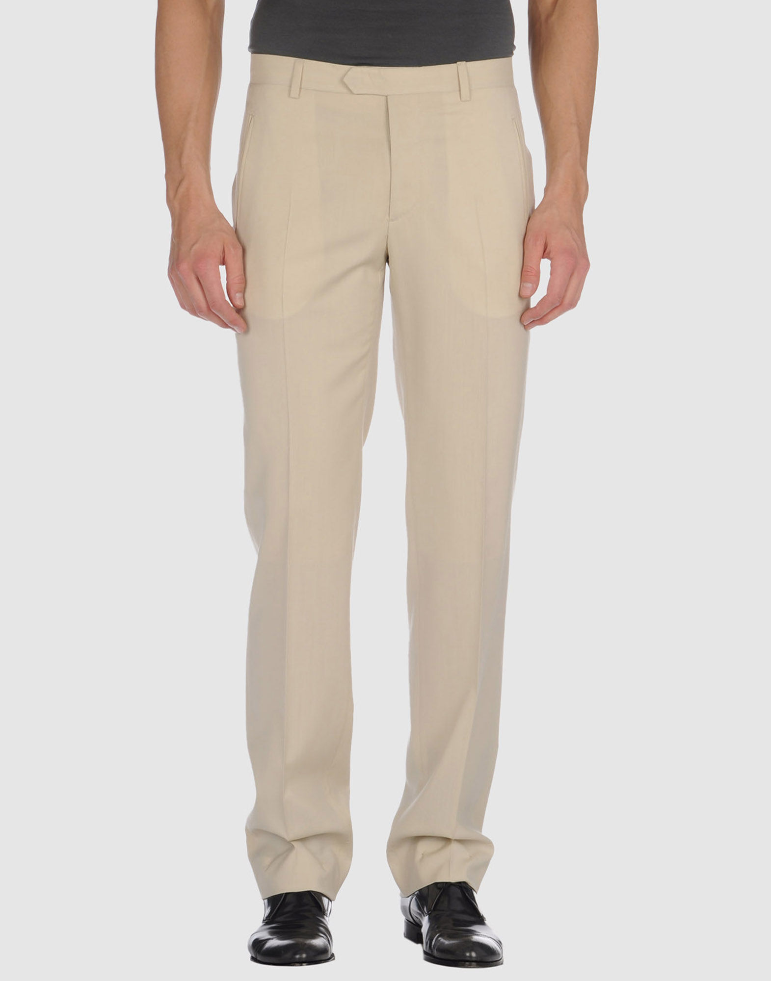 costume national homme dress pants in beige for men lyst. Black Bedroom Furniture Sets. Home Design Ideas