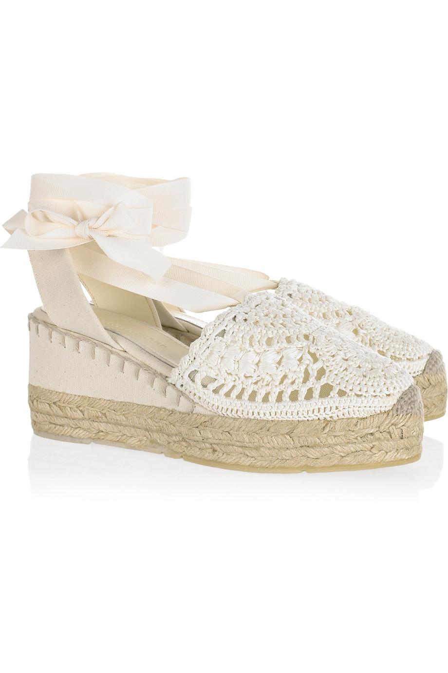 Lyst Ralph Lauren Collection Umika Crocheted Espadrille