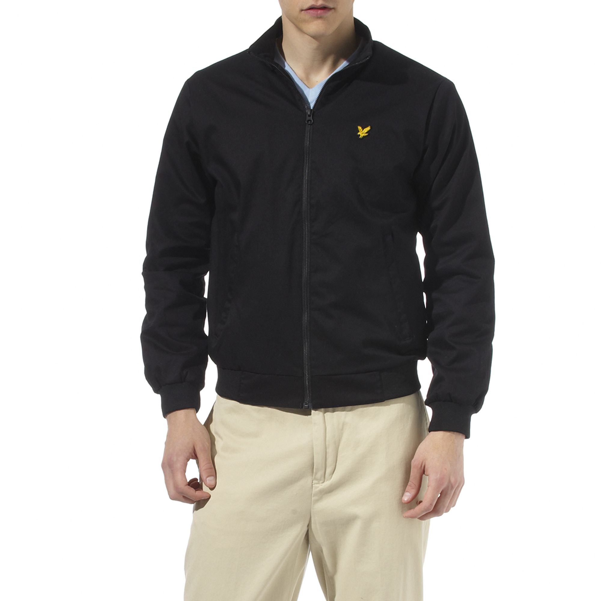 lyle scott bomber jacket in black for men lyst. Black Bedroom Furniture Sets. Home Design Ideas