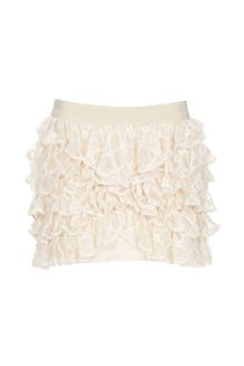 Isabel Marant Ruffled Mini Skirt - Lyst