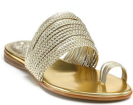 bf12d693089 Gold Sandals Vince Camuto ~ Gold Sandals