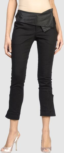 Vivienne Tam 3/4-length Short in Black
