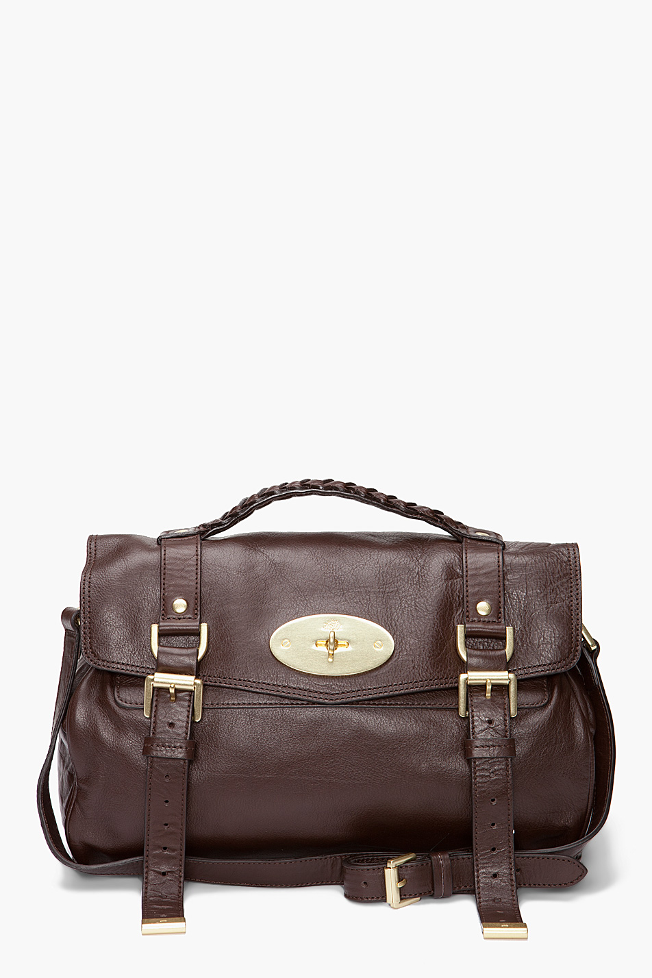 ... new product 591fa 78e2f Lyst - Mulberry The Alexa Bag in Brown ... 20278bb22d9ec