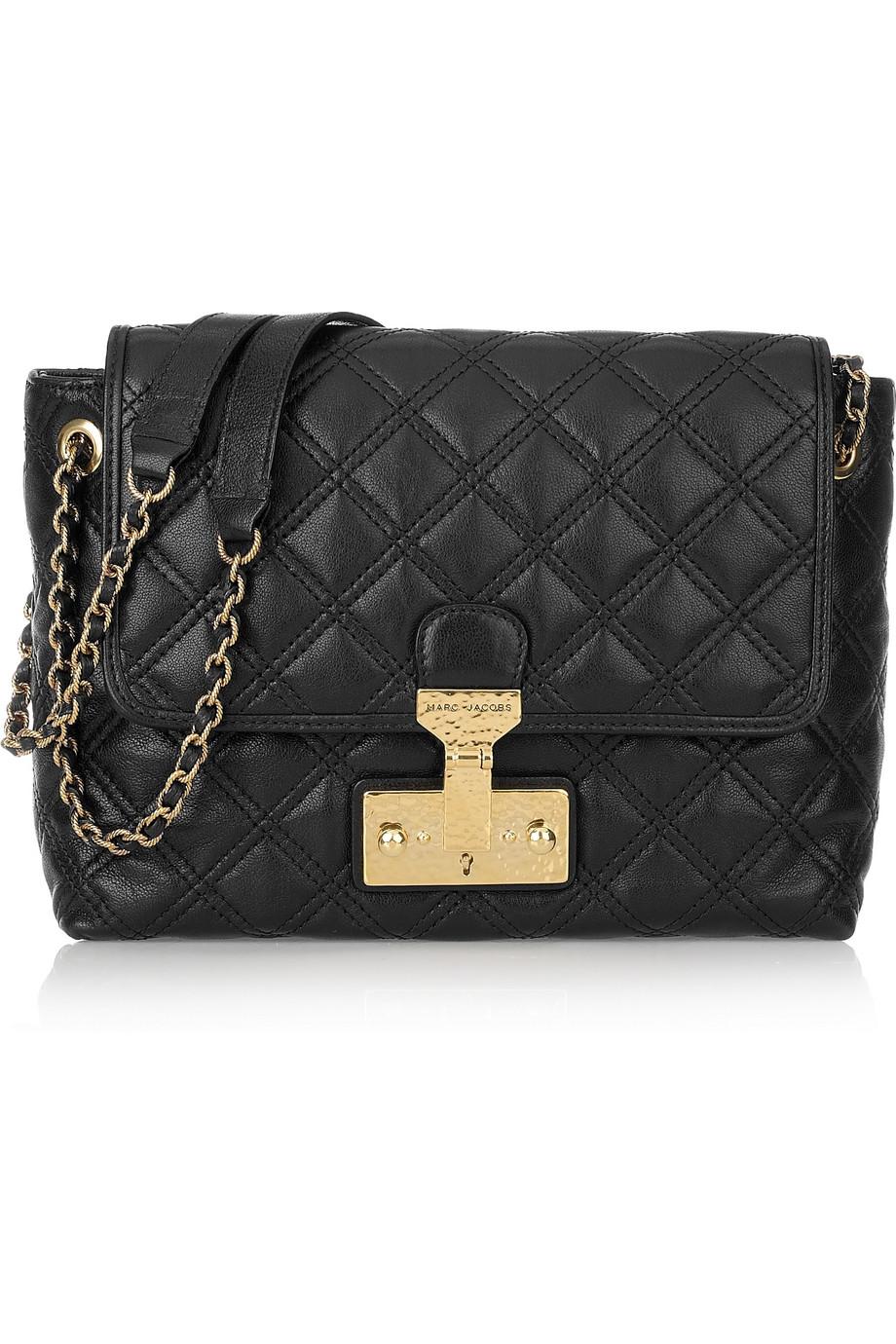 Lyst Marc Jacobs Baroque Single Leather Shoulder Bag In