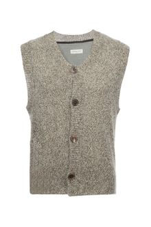 Dries Van Noten Nagano Sleeveless Cardigan - Lyst