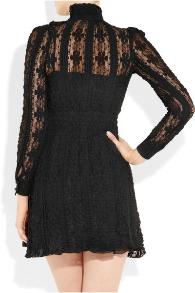 Galerry lace dress turtleneck