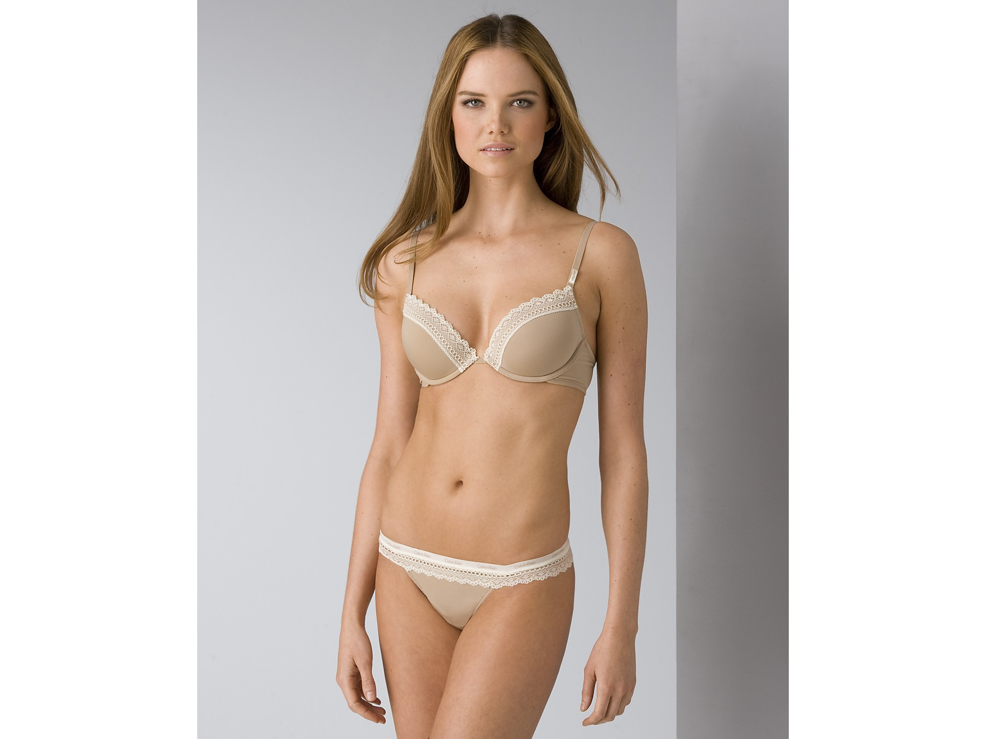 59c7088b4c46d Lyst - Calvin Klein Underwear Womens Perfectly Fit Flirty Push-up ...