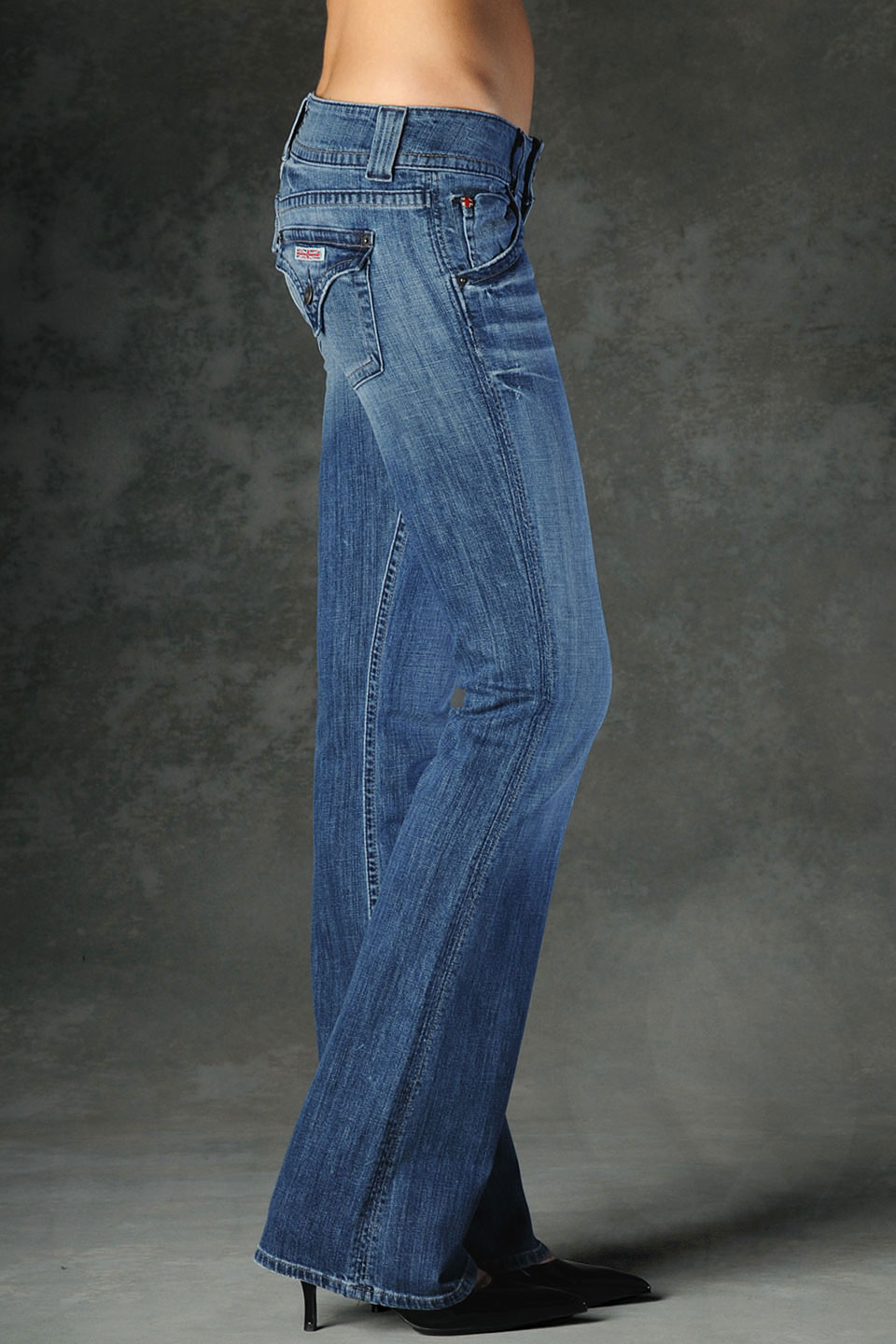 Hudson jeans Signature Bootcut in Blue | Lyst