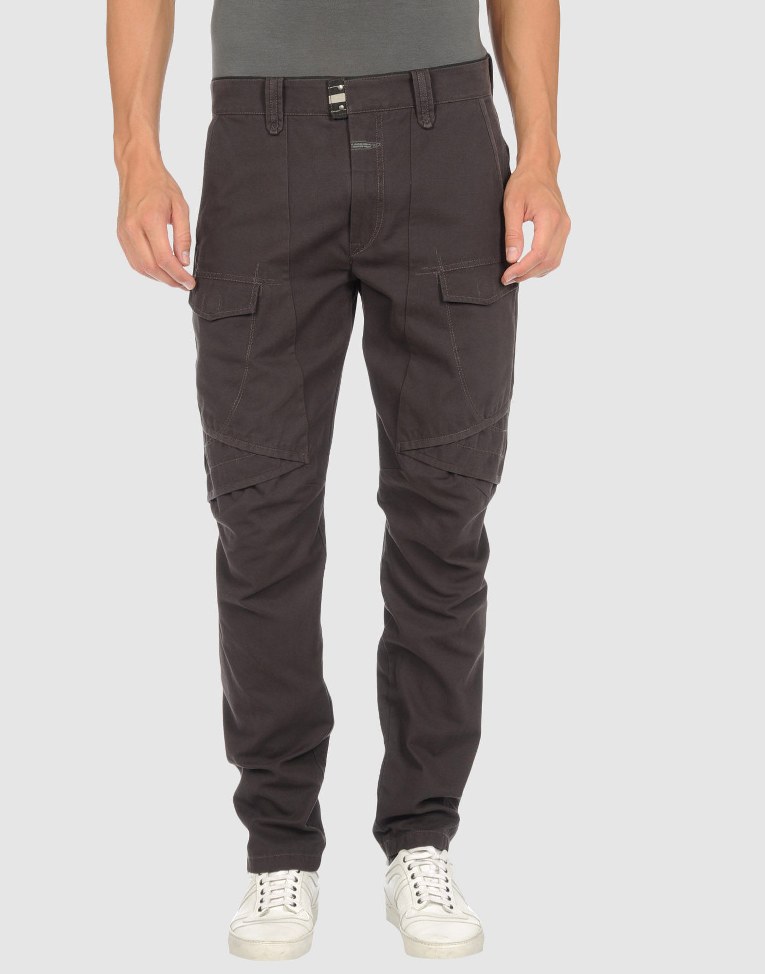 marith et fran ois girbaud casual pants in gray for men lead lyst. Black Bedroom Furniture Sets. Home Design Ideas