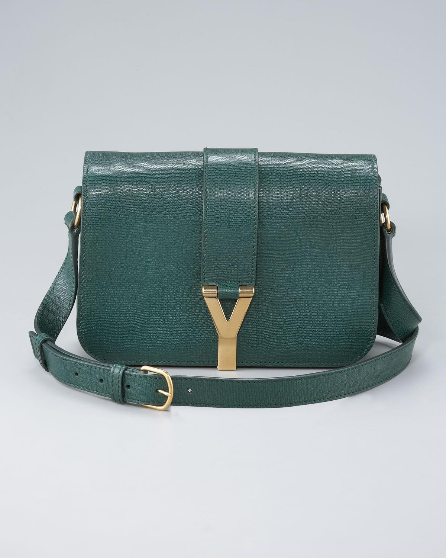 116f529acb Lyst - Saint Laurent Chyc Flap Shoulder Bag