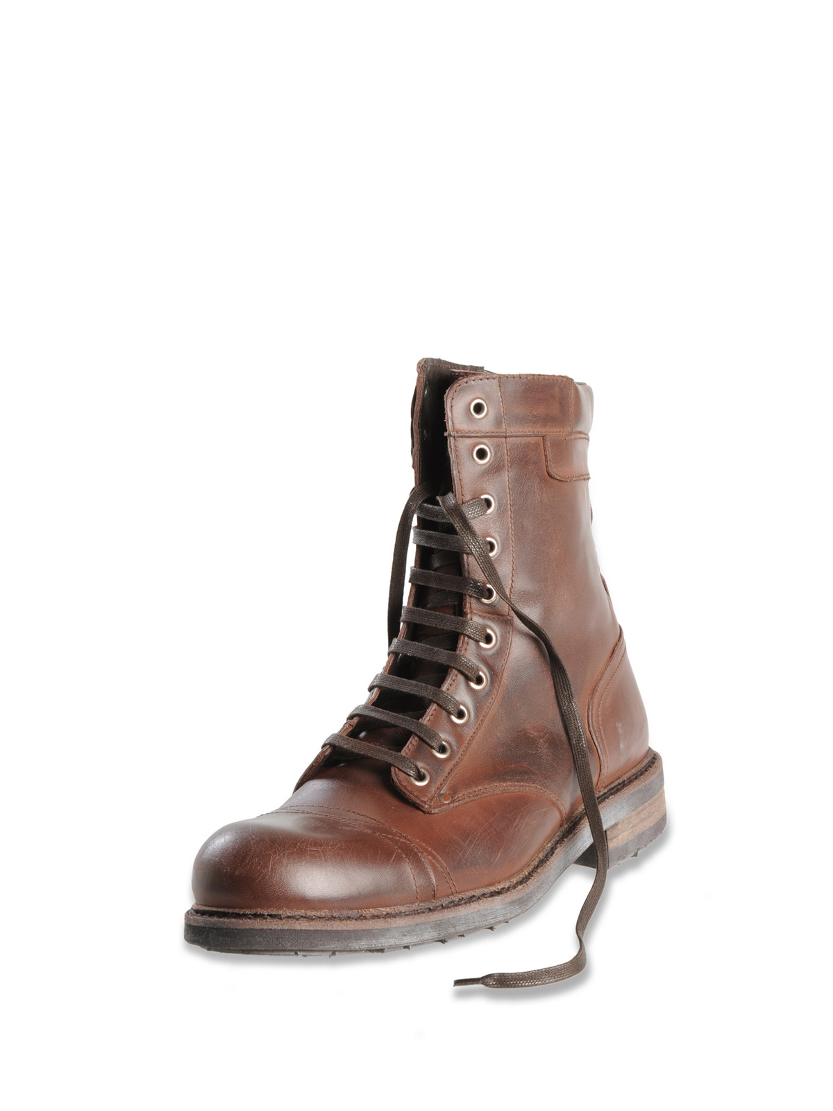 diesel butch amp cassidy boots in brown for men lyst