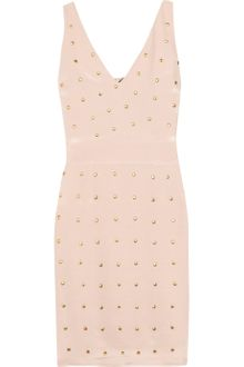 Alice By Temperley Melinda Studded Silk-blend Dress - Lyst
