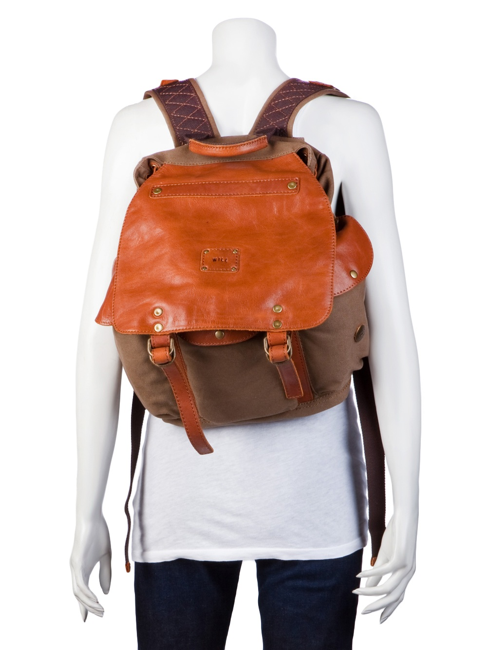 Will leather goods Lennon Backpack in Brown | Lyst