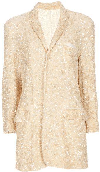 Jean Paul Gaultier Sequin Jacket - Lyst