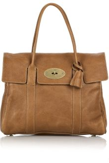 Mulberry Bayswater Leather Bag - Lyst