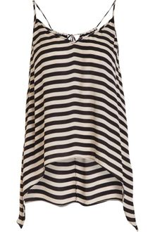 Mason by Michelle Mason Striped Tank - Lyst
