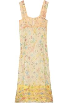 Sonia By Sonia Rykiel Printed Silk-chiffon Dress - Lyst