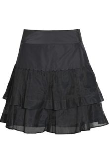 See By Chloé Silk-blend Tiered Skirt - Lyst