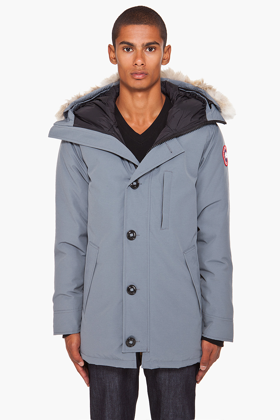 Lyst - Canada Goose Chateau Parka in Gray for Men 02d51d8b171b