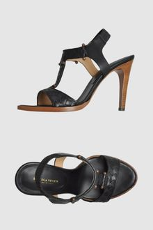 Bottega Veneta High-heeled Sandals - Lyst