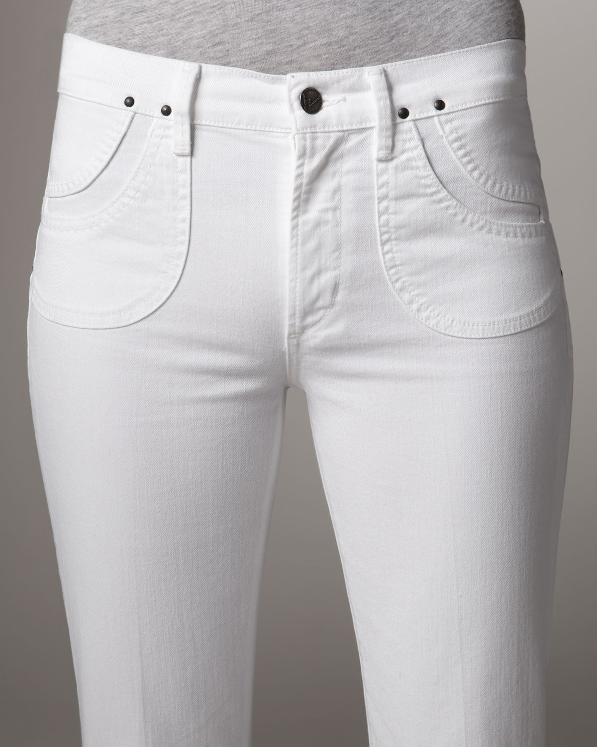 choose clearance reputation first buy real Citizens of Humanity White Angie Santorini Bell-bottom Jeans