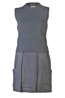 3.1 Phillip Lim Sleeveless Knit Top Dress - Lyst