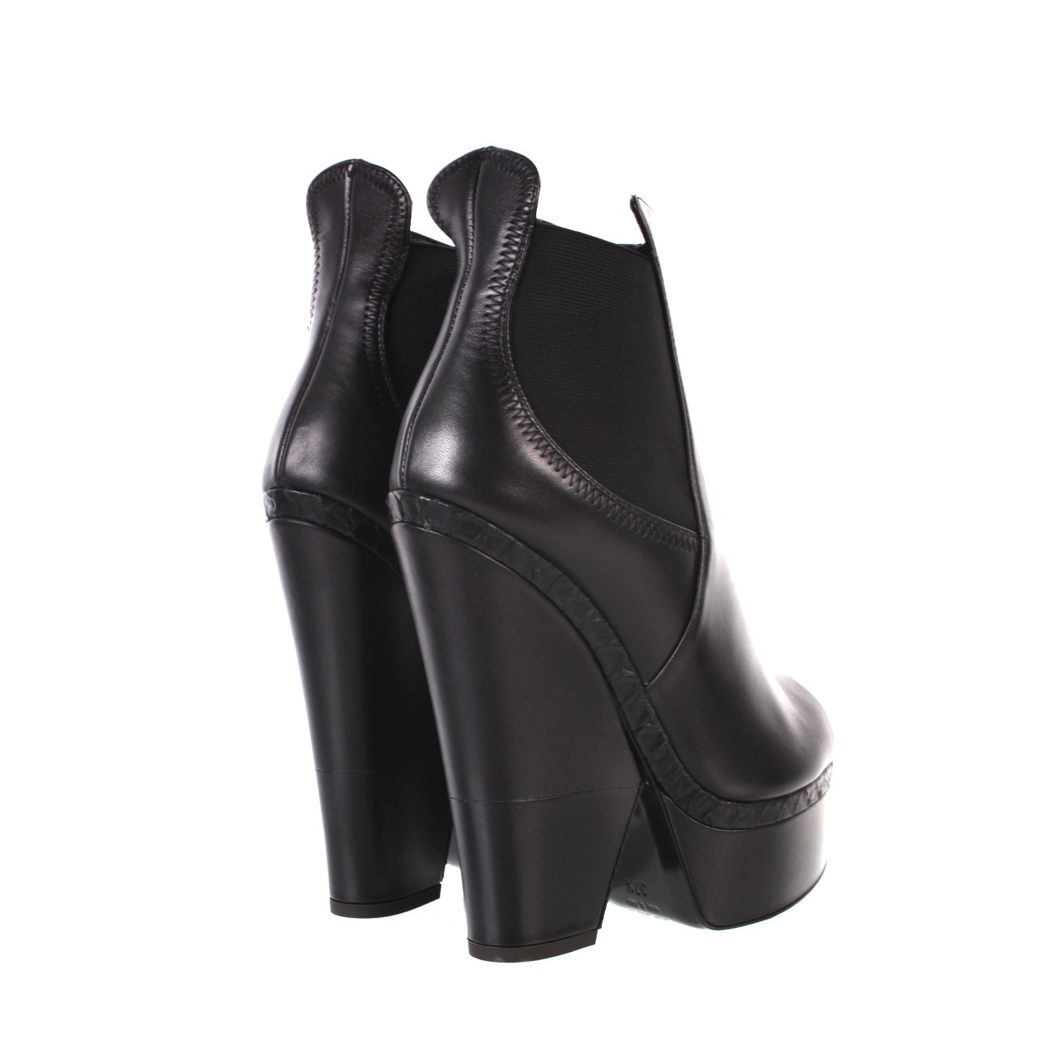 giuseppe zanotti 120mm leather biker open toe boots