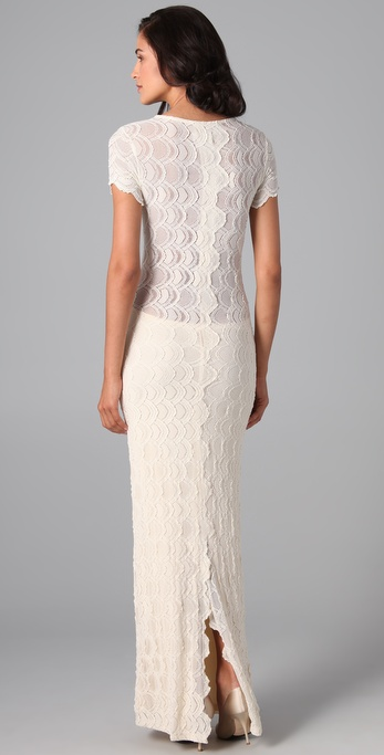 Lyst Nightcap Victorian Lace Cap Sleeve Dress In White